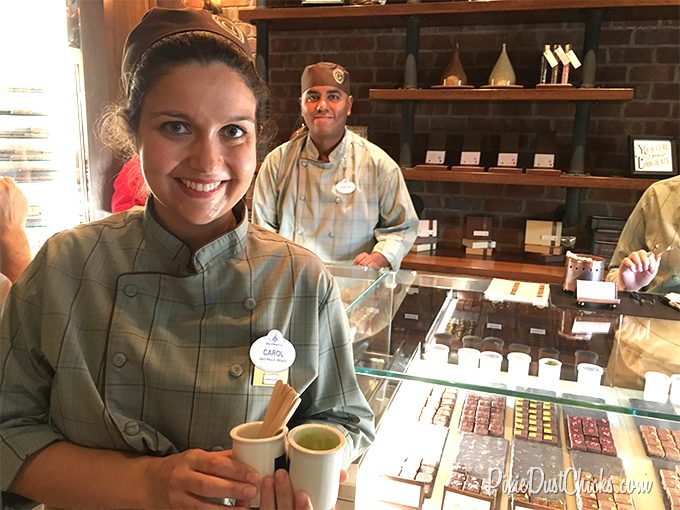 The Ganachery at Disney Springs in Walt Disney World! | PixieDustChicks.com