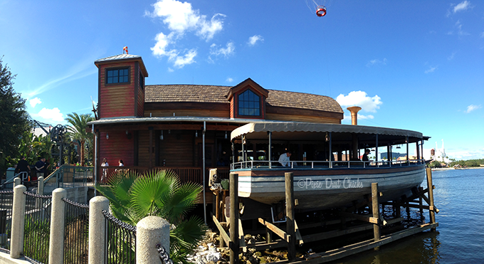 Jock Lindsey's Hangar Bar at Disney Springs, side view | PixieDustChicks.com