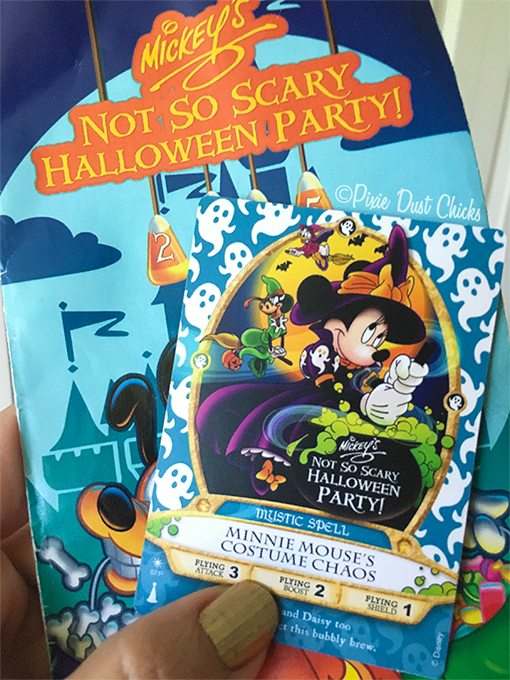 Sorcerer's of the Magic Kingdom special event card | Mickey's not So Scary Halloween Party | PixieDustChicks.com