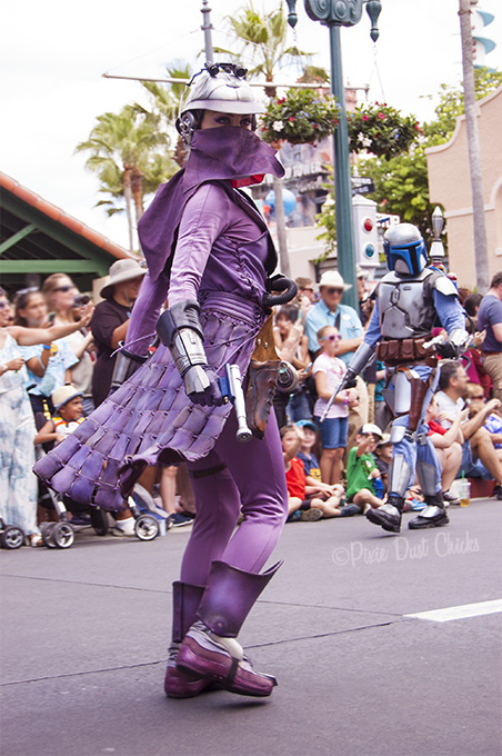 Zam Wesell from Star Wars in Disney's Hollywood Studios | PixieDustChicks.com