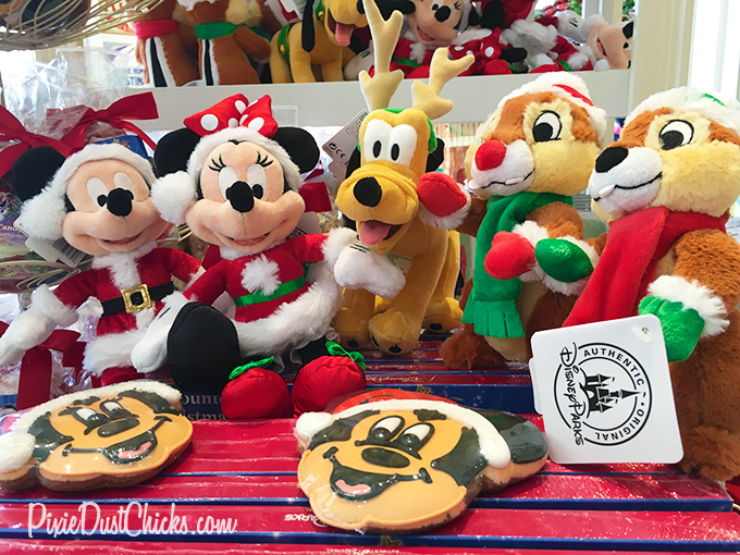 Disney plush as Mickey, Minnie, Pluto, Chip and Dale | PixieDustChicks.com