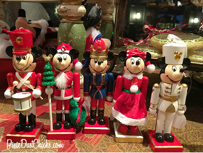 Disney miniature Nutcracker ornaments at Walt Disney World | PixieDustChicks.com
