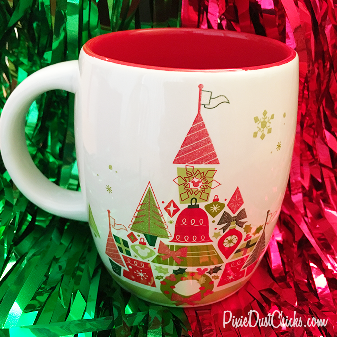 Starbucks Disney Christmas mug from Walt Disney World | PixieDustChicks.com