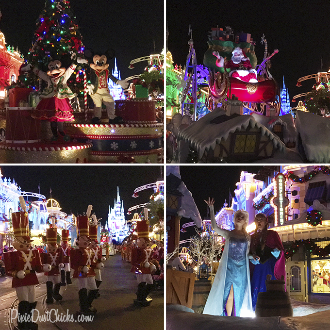 Disney's Once Upon A Christmastime Parade at Magic Kingdom | PixieDustChicks.com