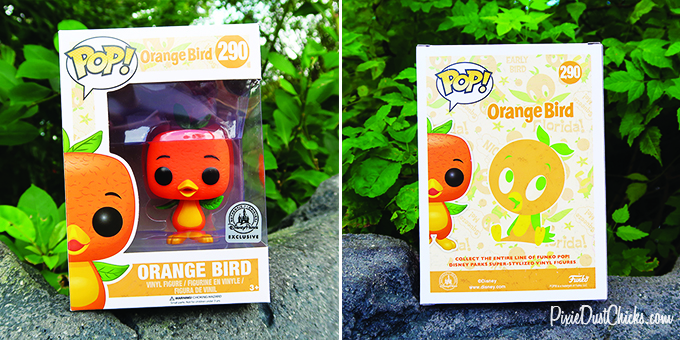Beautiful packaging for the new Orange Bird Funkp Pop! at Walt Disney World!